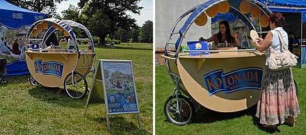 KOLONÁDA – mobile selling handcart