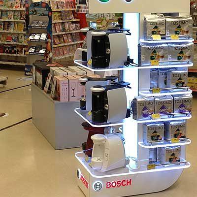 Tassimo Floor Displays for Kraft
