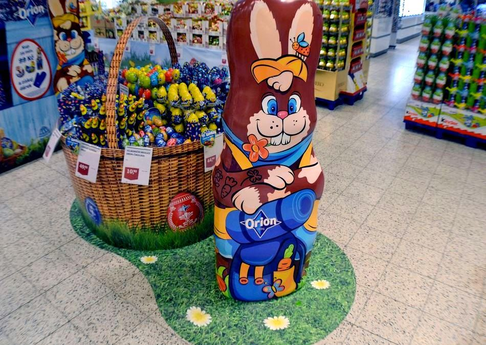 Orion creates Easter atmosphere in stores