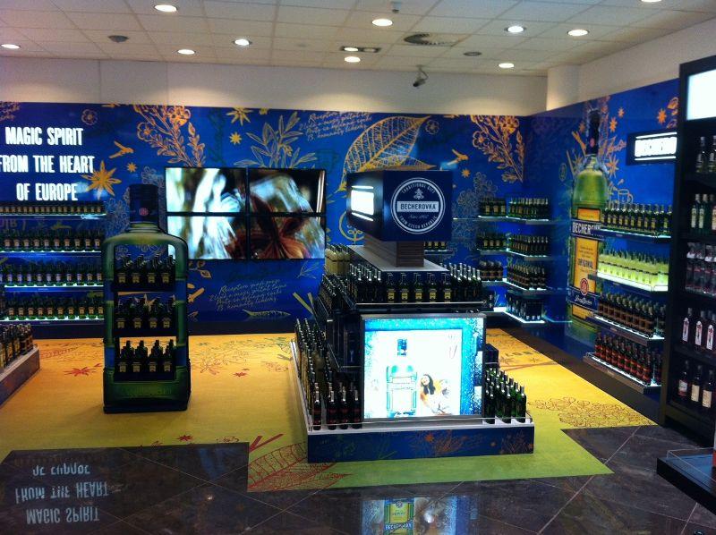 Top Class Shop in Shop Becherovka