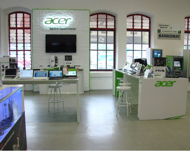 Shop in shop ACER for Alza
