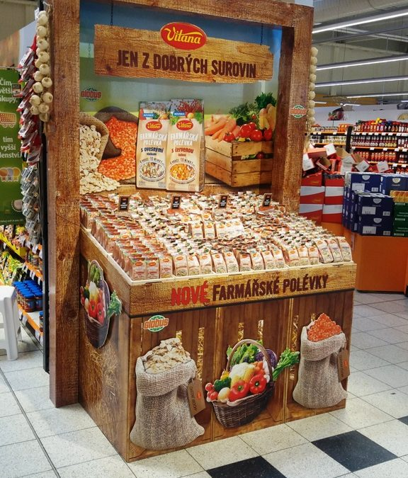 Vitana farmářské tržiště v hypermarketech