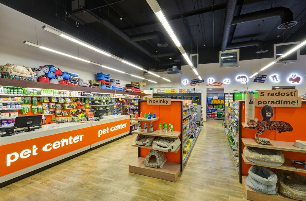 Pet Center – store remodelling
