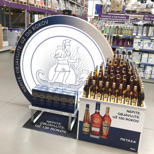 Metaxa is developing the brand in retail