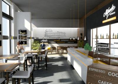 Kafe Alfredo koncept 01