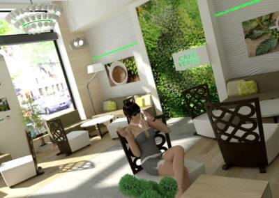 Kafe Verde koncept 01