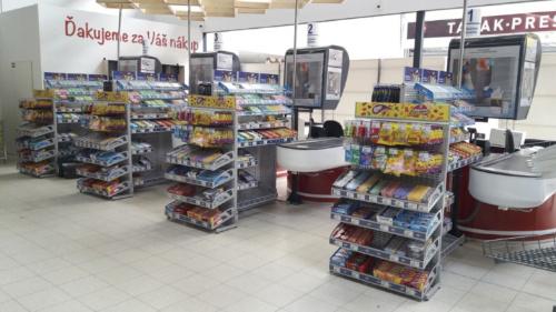 Nové pokladní zóny od Nestlé zvyšují prodej cukrovinek o více než polovinu