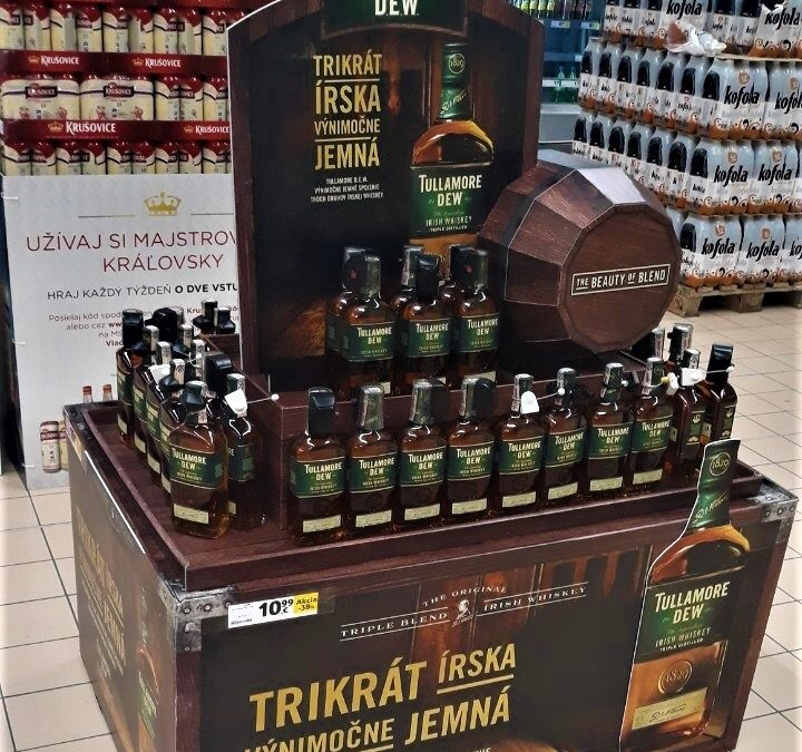 TULLAMORE D.E.W. PRESENTS IN TESCO ITS NEW POP CONCEPT