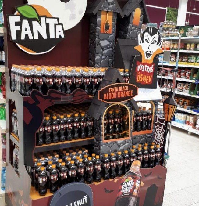Blood orange Fanta scares and amuses