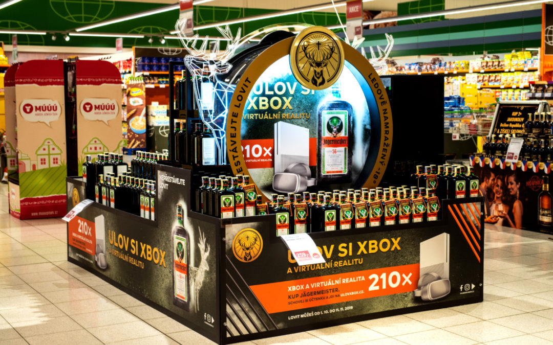 The Jägermeister display as the absolute winner at POPAI Awards 2019