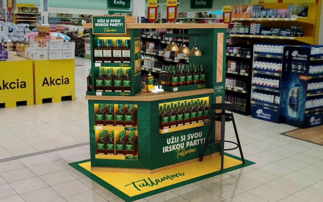Tullamore D.E.W. gets new bars viewing to Ireland