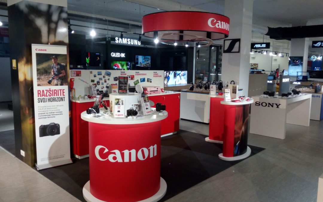 Shop-in-shop Canonu v Lublani