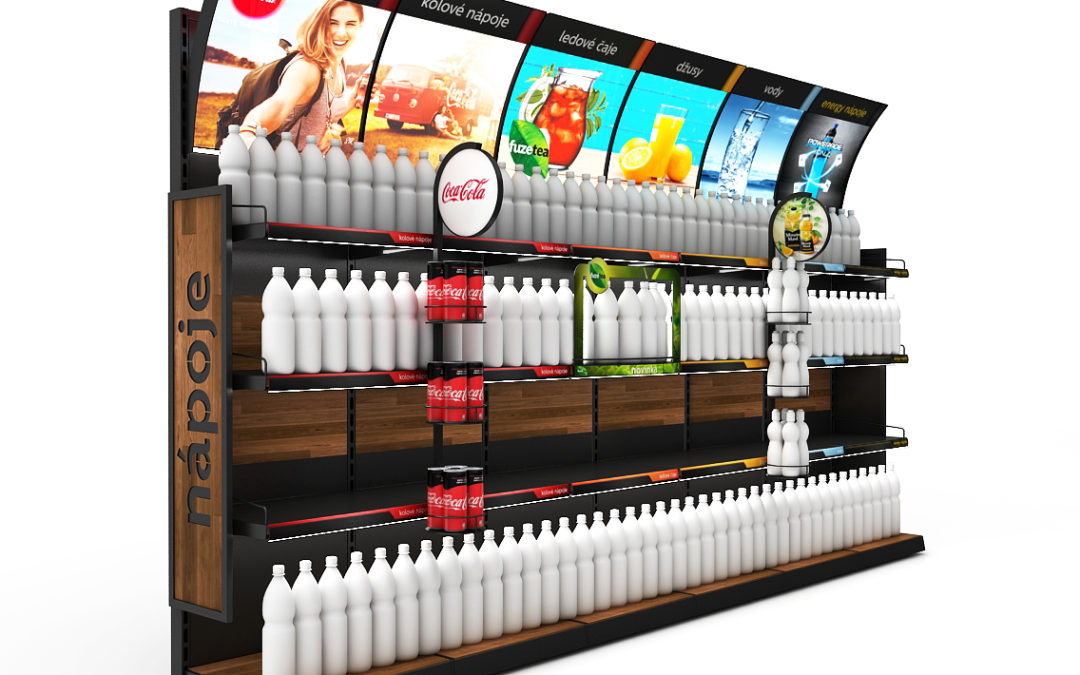 Shelves as the most effective POP medium and a category management tool