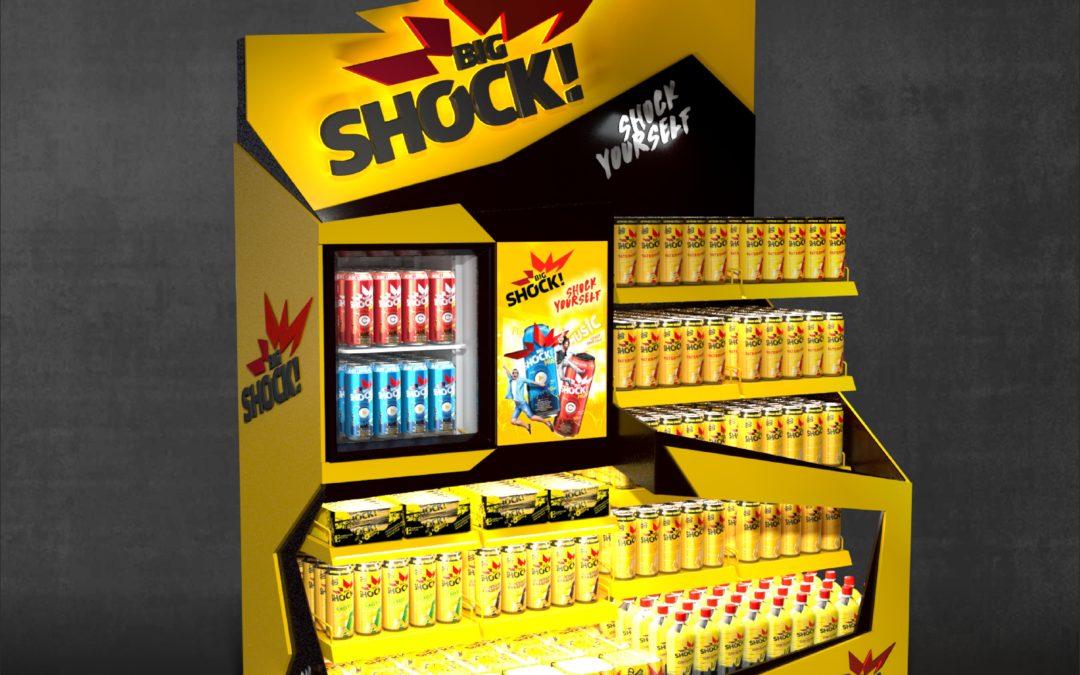 Big Shock vsadil na kreativní nabídku kompletního sortimentu